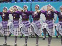 Halk oyunları il yarışması yapıldı