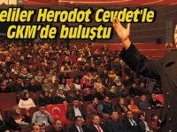 Gebzeliler Herodot Cevdet'le GKM'de buluştu
