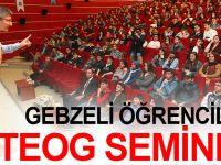 Gebzeli öğrencilere TEOG semineri