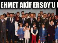 DARICA MEHMET AKİF'İ UNUTMADI
