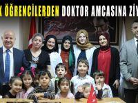 Minik öğrencilerden Tıp Bayramı ziyareti