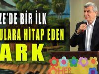 Başkan Karaosmanoğlu'ndan ''Duyulara Hitap Eden Park''
