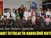 Mehmet Zeki Obdanlı çocuklar Mehmet Akif'i andı