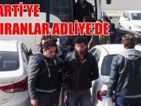 AK Parti'ye saldıranlar adliyede