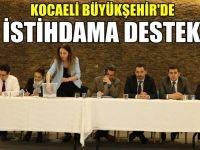Büyükşehir'in istihdam projesine katkı