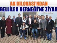 Ak Parti Dilovası Engelliler Derneğini ziyaret etti