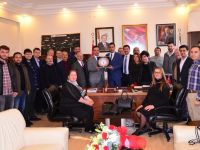 İMO'dan Kartepe Belediye Başkan Yardımcısı Balaban'a Ziyaret