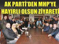 Kılıç ve ekibinden MHP'ye hayırlı olsun ziyareti