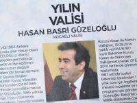 Vali Güzeloğlu, yılın valisi seçildi