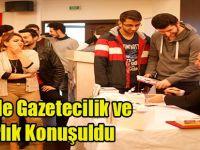 GTÜ' de Gazetecilik ve Yazarlık Konuşuldu