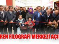 DAREN Filografi merkezi açıldı