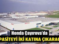 Honda Gebze'de kapasite artacak