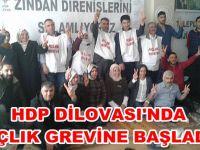 HDP, Dilovası'nda açlık grevi başlattı