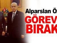 Alparslan Özcan, görevini bıraktı