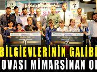 Bilgievleri'ndeki münazaranın galibi Mimar Sinan Bilgievi