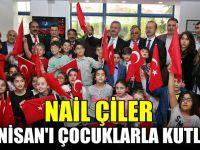 Çiler, 23 Nisan'ı çocuklarla kutladı