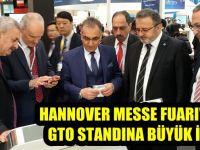 GTO standına Hannover Messe'de yoğun ilgi
