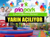 Çocuk eğlence merkezi Piapark yarın açılıyor