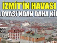 İzmit'in havası Dilovası'ndan daha tehlikeli!