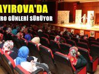 Çayırova'da tiyatro günleri sürüyor