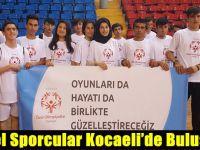 Kocaeli'de Özel Olimpiyatlar Rüzgârı Esti