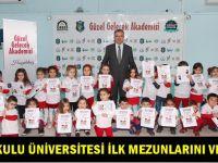 Anaokulu Üniversitesi ilk mezunlarını veriyor