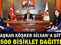 Başkan Köşker Silvan'da