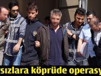 Hırsızlara Osmangazi köprüsünde operasyon