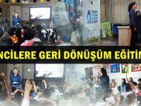 Öğrencilere geri dönüşüm eğitimi
