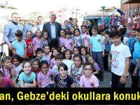 Başkan, Gebze'deki okullara konuk oldu