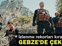 İzlenme rekorları kıran dizi Gebze'de çekildi