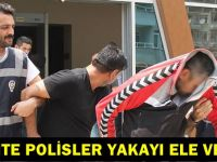 Sahte polisler yakayı ele verdiİ