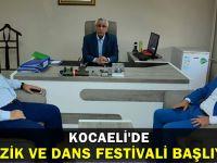 Kocaeli Müzik ve Halk Dansları festivali başlıyor