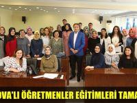 Çayırova'lı Öğretmenlerin Eğitimleri Tamamlandı