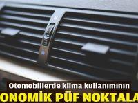 Otomobillerde klima kullanmanın ekonomik püf noktaları