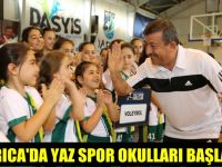 Darıca'da yaz spor okulları start verdi