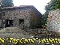 """Asırlık """"Taş Camii"""" yenileniyor"""