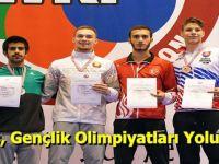Enes, Gençlik Olimpiyatları Yolunda