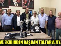 Laç ve ekibinden Başkan Toltar'a ziyaret