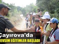 """""""Dört Mevsim Çayırova'nın"""" yaz dönemi eğitimleri başladı"""
