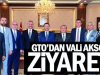 GTO'dan Vali Aksoy'a ziyaret