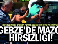 Gebze'de Mazot Hırsızları Kıskıvrak Yakalandı