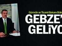 Bakan Tüfenkci, Gebze'ye geliyor