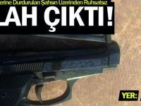 Kocael'de Şüphe Üzerine Durdurulan Şahsın Üzerinden Ruhsatsız Silah Çıktı