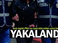 Terör örgütü PKK'nın üyesi iddia edilen şahıs Gebze'de yakalandı