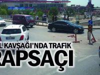 Anibal Kavşağı'nda trafik arapsaçı