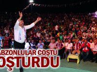 Trabzonlular Coştu Coşturdu