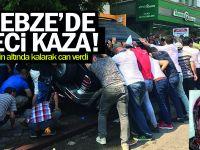 Gebze'de feci kaza! Cipin altında kalarak can verdi