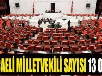 Kocaeli'nin milletvekili sayısı 13 oldu