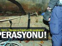 Gebze, Darıca, Dilovası ve Çayırova'da uyuşturucu operasyonu!